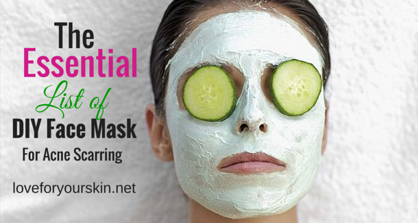 DIY Face Mask for Acne Scarring