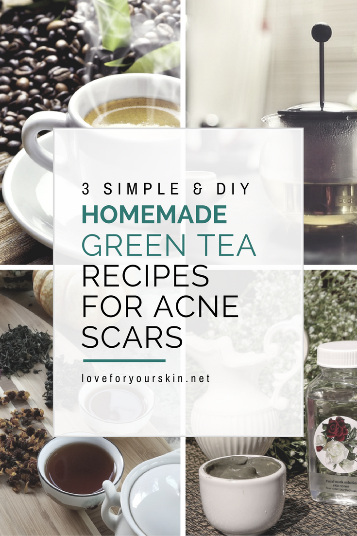3 Simple & DIY Homemade Green Tea Face Masks for Acne