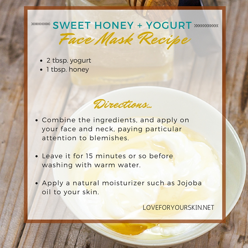 Sweet Honey and Yogurt Face Mask Recipe